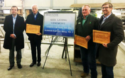 Marine Log: Keel laid for first hybrid cargo vessel in U.S.