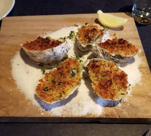 April Cooking Class – The World is Your Oyster